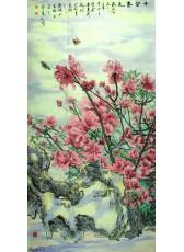 西府海棠.·2011年138cm×68cm