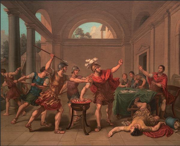 伦勃朗的时代:16至18世纪欧洲大师油画作品图片