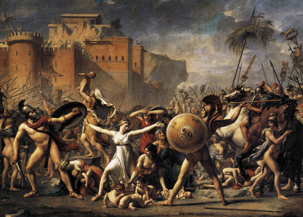 雅克·路易斯·达维特Jacques Loouis David (1748-1825) 法国 - 浅草细浪 - 浅草细浪
