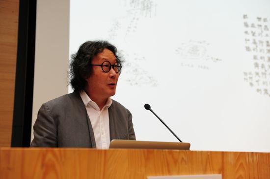 中央美术学院学术委员会主任、著名艺术家徐冰发言