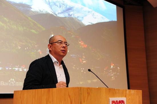 著名建筑师、当代艺术家朱小地接受发言