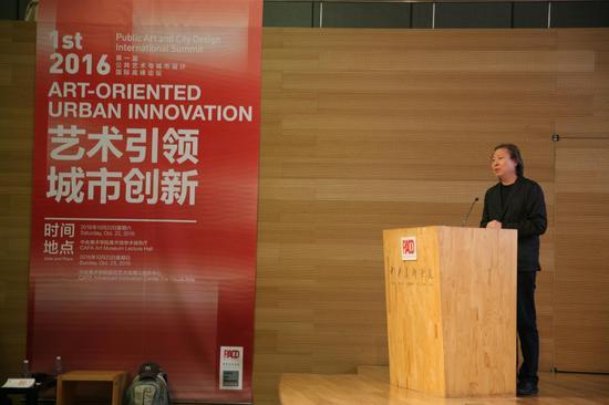 美国哥伦比亚客座教授,著名 建筑师朱锫先生